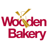 This is the title text of wooden bakery