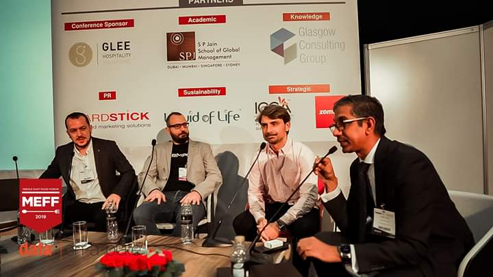 bim pos john balian in a panel discussion at the restaurant show dubai