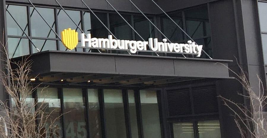 جامعة هامبرغر لماكدونادز