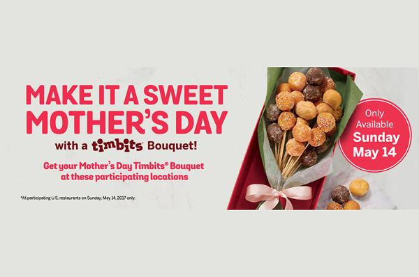 Tim horton's mother's day bouquet