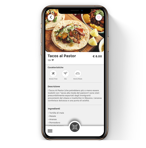 Contact-less digital menu for restaurants through QR Code. scan and order for restaurant menu