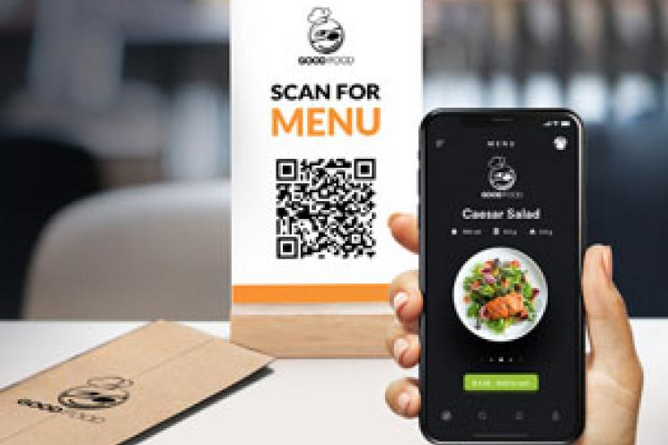 Contactless Digital Menu
