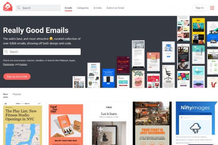 Excellent and successful newsletters