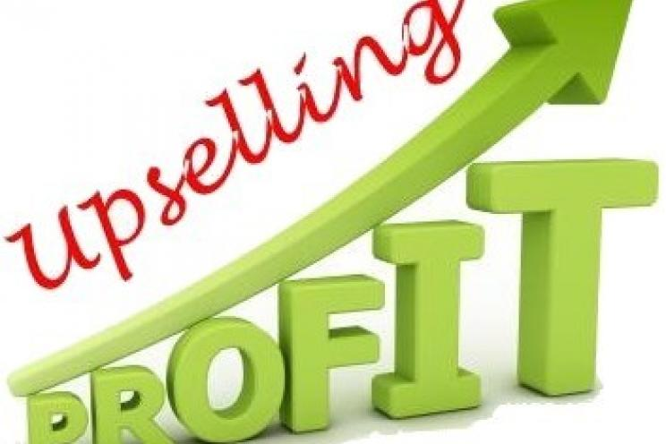 upselling and increasing profits